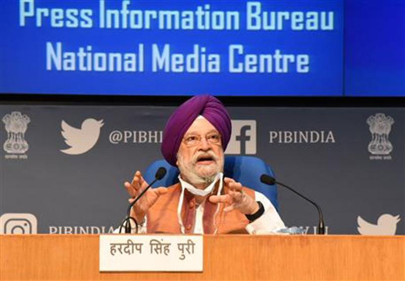 Vande Bharat flights facilitated repatriation, outbound travel of more than 16.25 lakh people: Hardeep Singh Puri