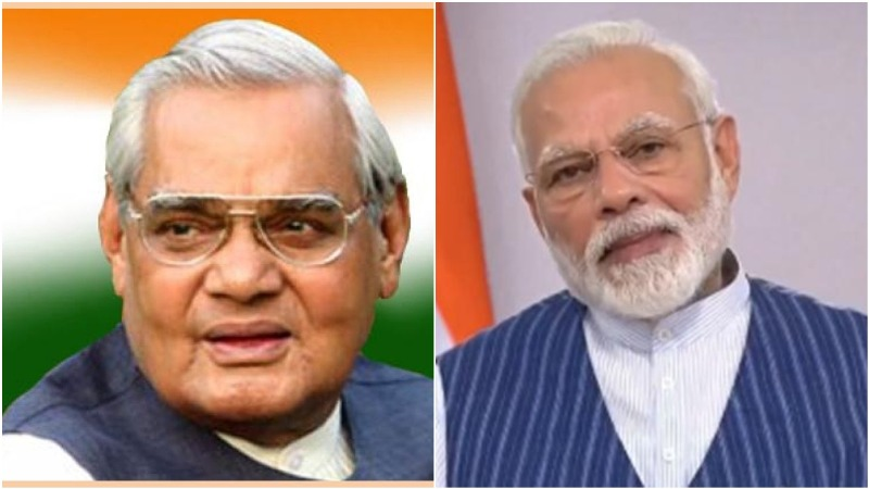 PM Modi tweets video of old images in memory on Atal Bihari Vajpayee