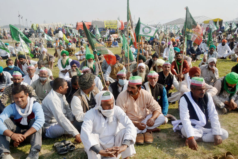 Protests against farm laws: Farmers threaten to block roads to Delhi from five points