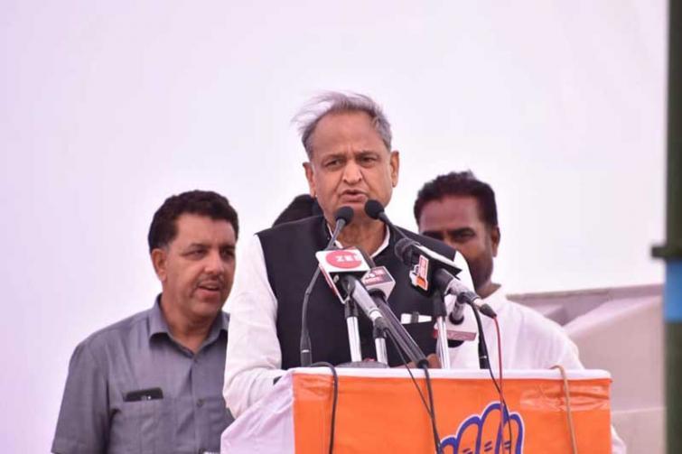 Rajasthan politics: Ashok Gehlot camp 'gheraoes' Raj Bhawan, demands floor test