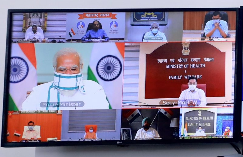 Focus on testing, tracing, treatment: PM Modi urges CMs of seven states