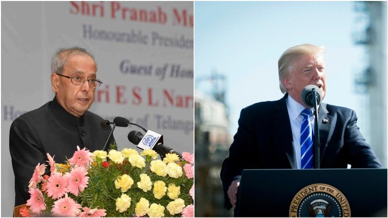 Donald Trump condoles demise of India's 'great leader' Pranab Mukherjee