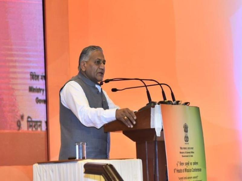Nagrota Terror attack was an attempt by Pakistan to disrupt upcoming local body polls in Jammu and Kashmir: VK Singh