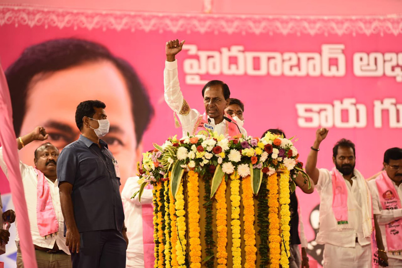 GHMC vote counting: TRS takes comfortable lead, BJP lags behind AIMIM