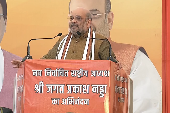 BJP does not function on casteism or nepotism: Amit Shah