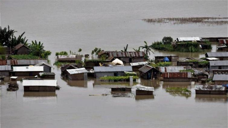 Assam flood situation improves, 10.75 lakh people of 18 districts still affect, death toll rises to 37