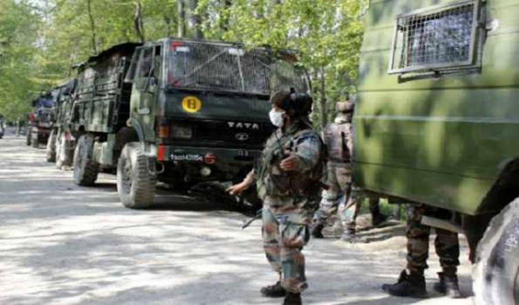 Kashmir: CASO by security forces underway in Pulwama