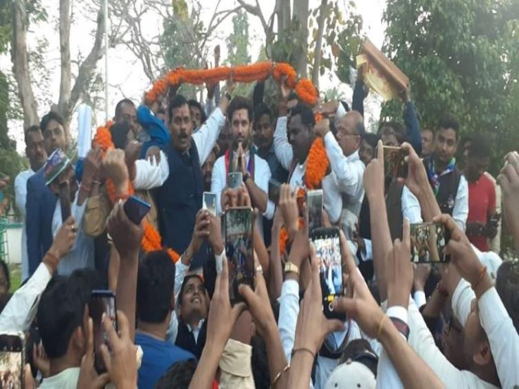 Chirag Paswan urges Bihar CM to stop suspension and FIR against striking teachers