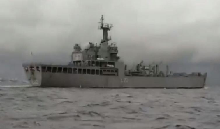 INS Magar leaves for Kochi with 202 Indian nationals