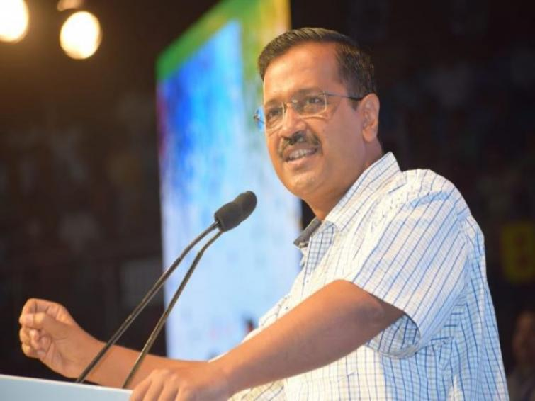 Kejriwal says Delhi Govt schemes better, a day after Union Minister Hardeep Singh accused him of not implementing Ayushman Bharat