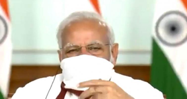 Narendra Modi interacts with CMs over COVID-19 via video conference