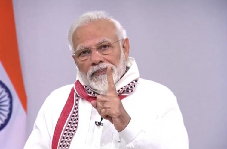 Soldiers gave befitting reply to those who eyed Indian territory in Ladakh: PM Modi
