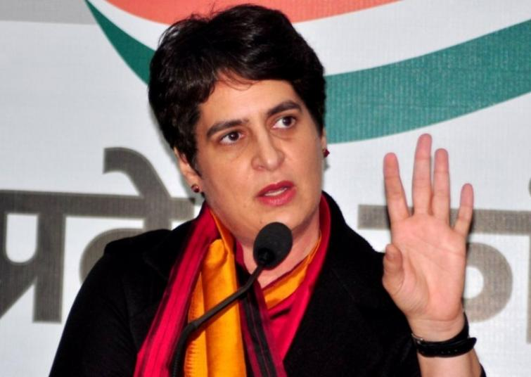 Priyanka Gandhi slams Yogi Adityanath govt over farmer's suicide