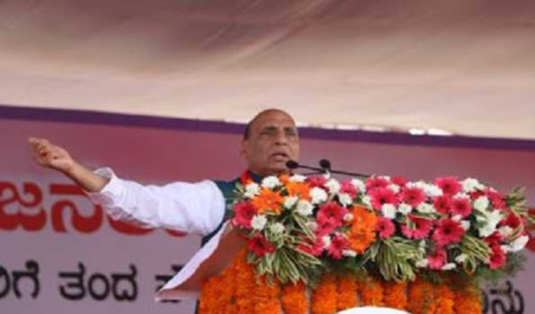 Congress is the reason for amending citizenship act: Rajnath Singh