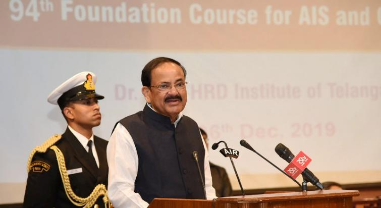 Vice President calls for inclusion of Veer Savarkar, other freedom fighters' stories in textbooks