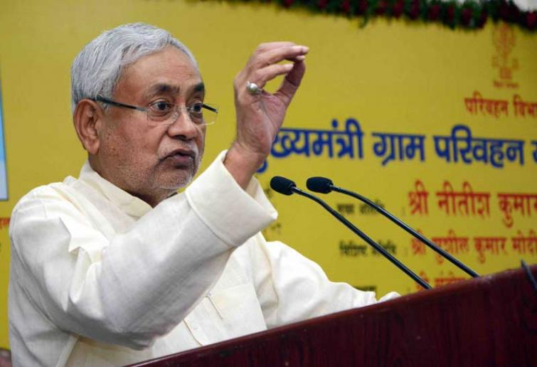 Nitish Kumar conducts aerial survey of flood-affected areas of Bihar