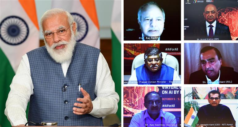 India to become global hub for Artificial Intelligence: PM Modi at RAISE 2020 virtual summit