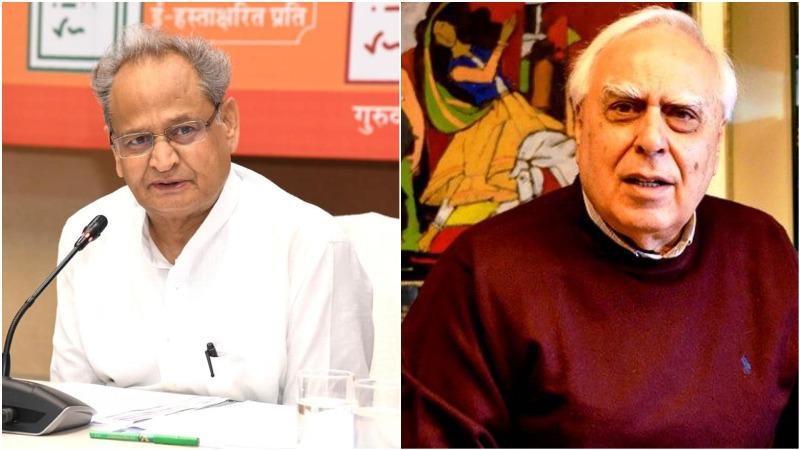 Ashok Gehlot slams Kapil Sibal for 'hurting sentiments of Congress' after Bihar debacle