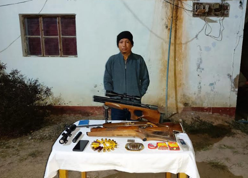 NSCN (KN) militant nabbed with arms in Nagaland