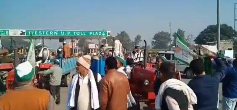 Farmers camp in Delhi border protesting against Centre's farm laws