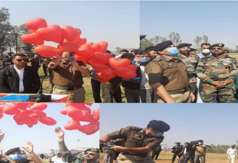 Jammu and Kashmir: JKP organises sports festival at Sopore, South Kashmir PPL at Anantnag