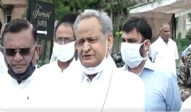 Rajasthan Political Crisis: Ashok Gehlot asks Governor to call Assembly session