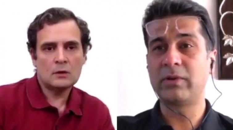 'Draconian' anti-Covid lockdown 'flattened wrong curve': Rajiv Bajaj tells Rahul Gandhi