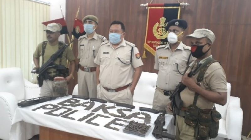 Huge cache of arms-ammunition recovered in Assam's Baksa district