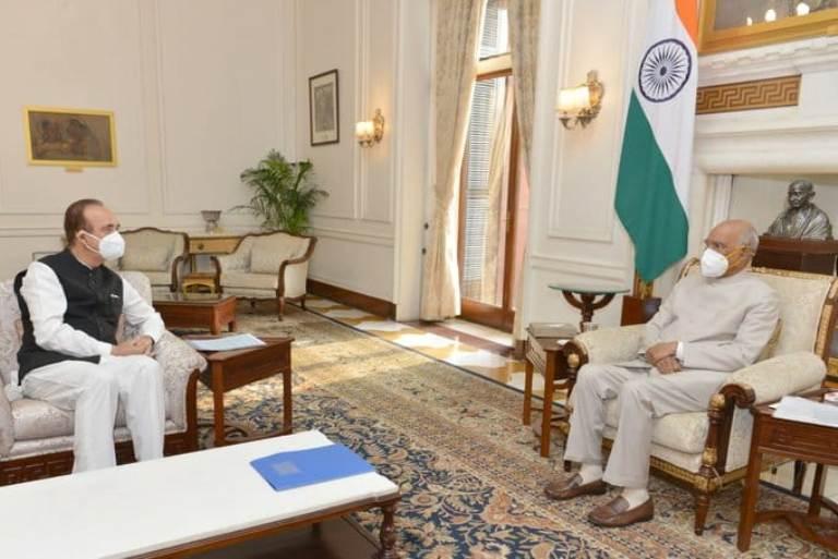 President should return farm bills passed unconstitutionally: Ghulam Nabi Azad