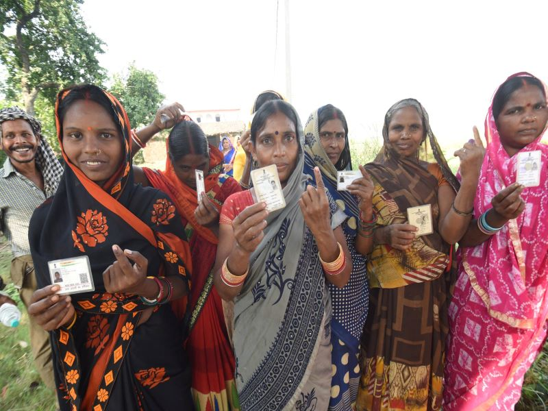 55 pc voting recorded in the first phase of Assembly polls in 71 constituencies of Bihar concludes