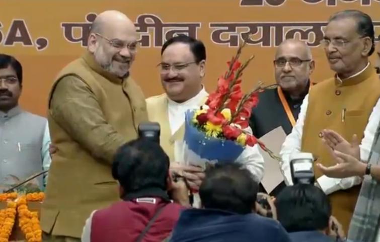 JP Nadda elected as BJP President, Narendra Modi wishes