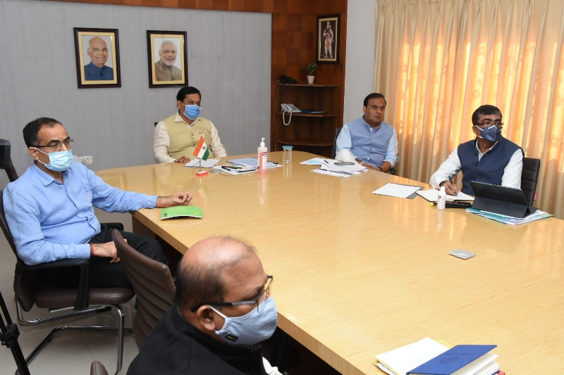 PM Modi chairs high level meeting with CMs to review status and preparedness of COVID-19 response and management