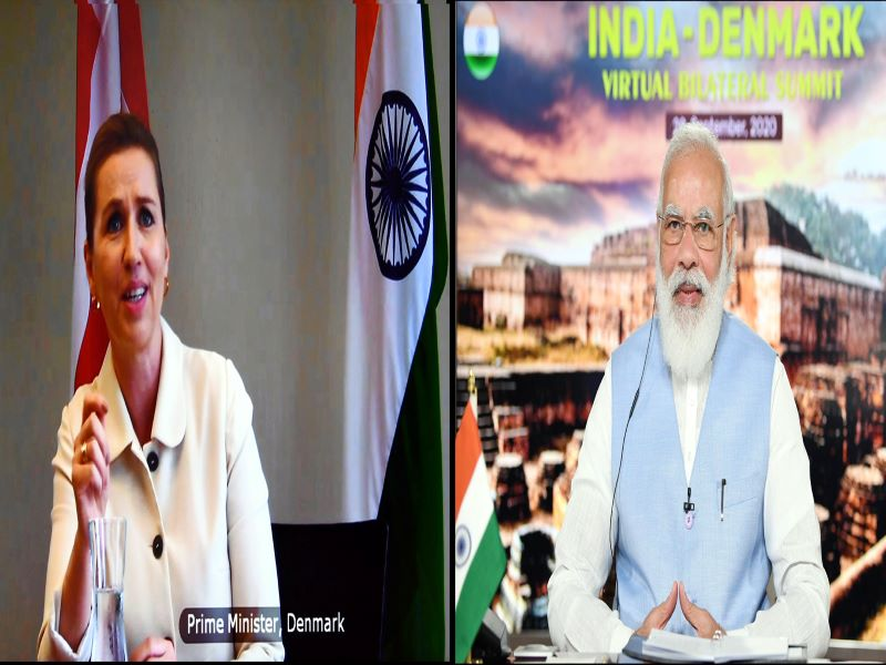 In first online summit, India and Denmark elevate their ties to 'Green Strategic Partnership'
