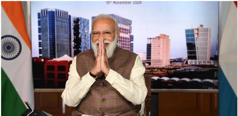 India to achieve 450 GWs of renewable energy by 2030: PM Narendra Modi