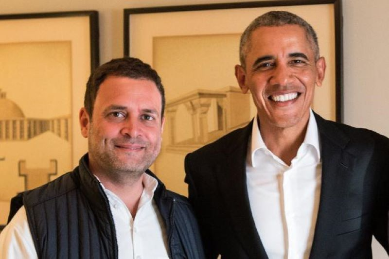 Rahul Gandhi a student eager to impress teacher but lacks aptitude or passion: Barack Obama in memoir
