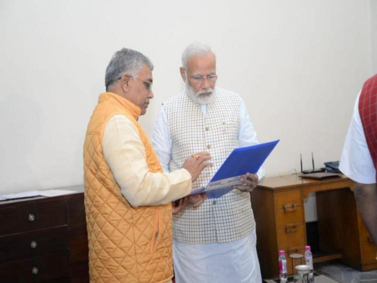 Dilip Ghosh to head state BJP unit for second term
