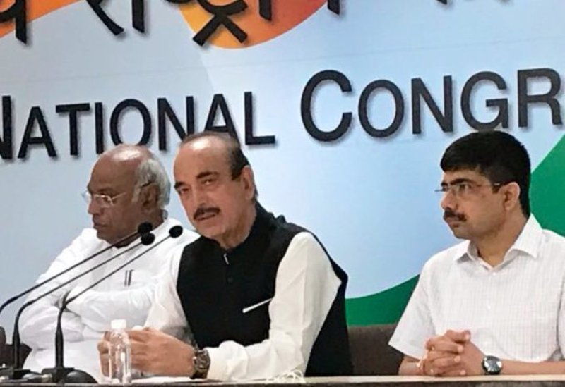 In Congress 'reconstitution,' Ghulam Nabi Azad dropped as general secretary
