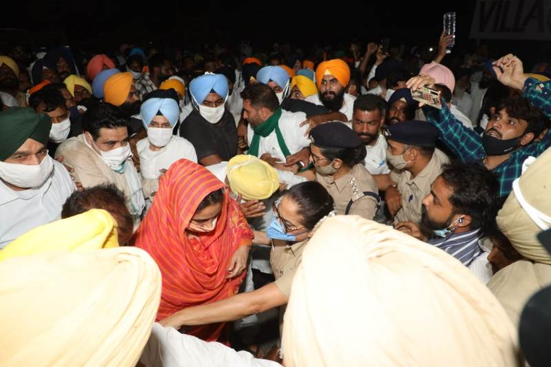 Harsimrat Kaur Badal arrested in Chandigarh over protest against farm laws
