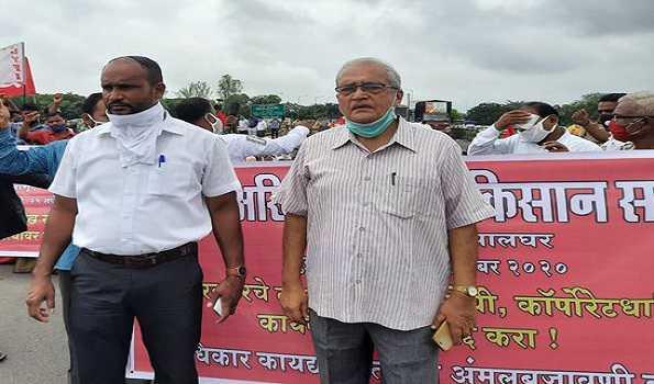 Farmers' Protest: Over 50,000 farmers stage 'Rasta Roko' in Maharashtra