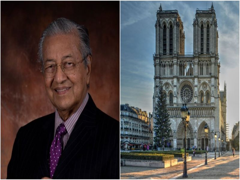 'Suspend Mahathir Mohamad's account or get called out for being an accomplice for formal call for murder': France tells Twitter