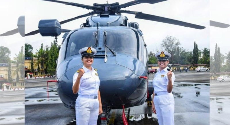 Indian Navy creates history, two women officers to join warship's crew