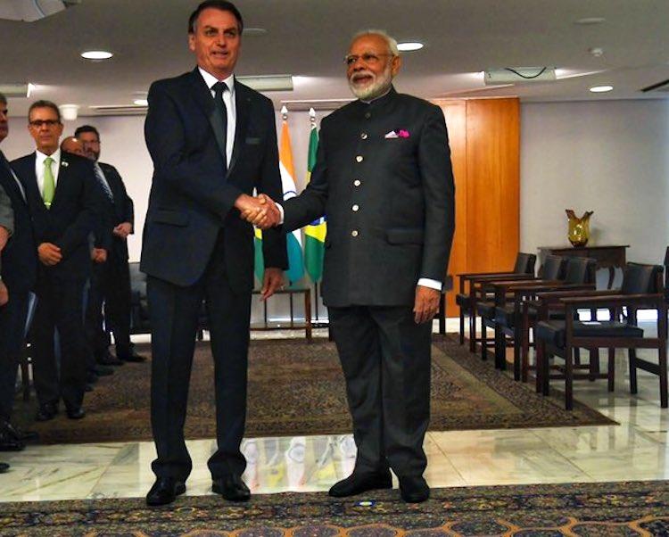 Narendra Modi wishes COVID-19 infected Brazil President Jair Bolsonaro speedy recovery