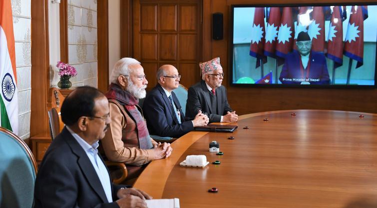 Narendra Modi, K P Sharma Oli jointly inaugurate Integrated Check Post at Jogbani-Biratnagar