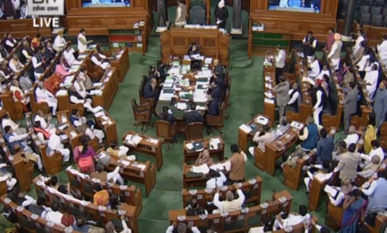Ruckus over Delhi violence: Lok Sabha adjourned till 2 pm