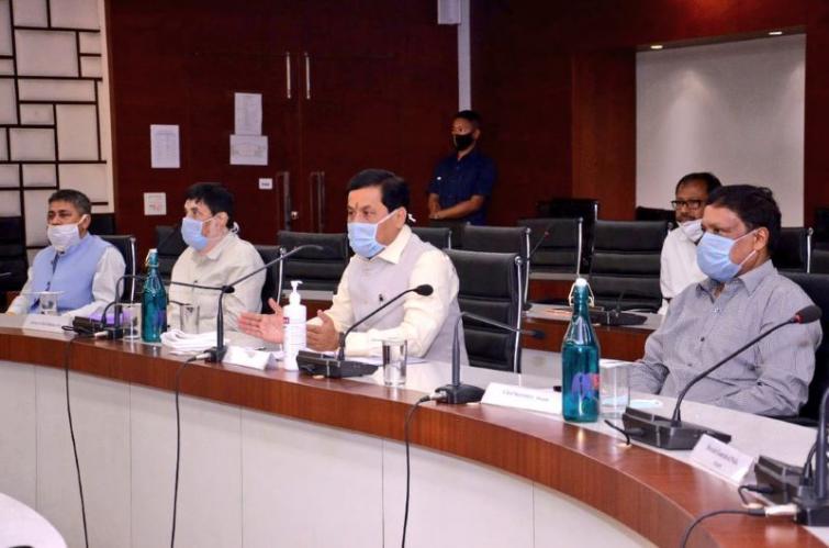 COVID-19: Sarbananda Sonowal requests Conrad Sangma to ensure hassle-free transportation of vehicles