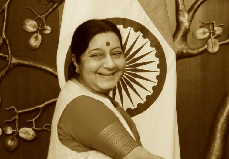 Twitter celebrates #EveryWoman by honouring late Sushma Swaraj as the #TwitterDiplomat