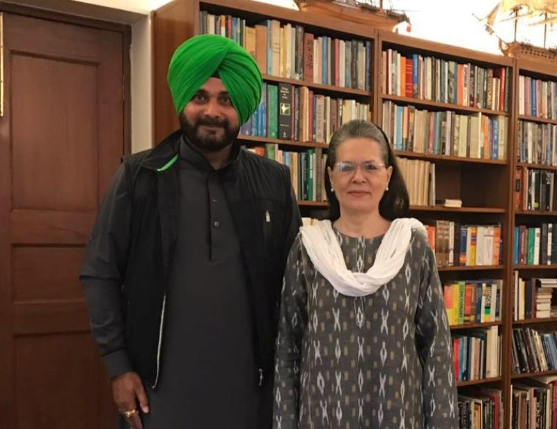Navjot Sidhu was not the ultimate choice of Congress leadership as Punjab CM