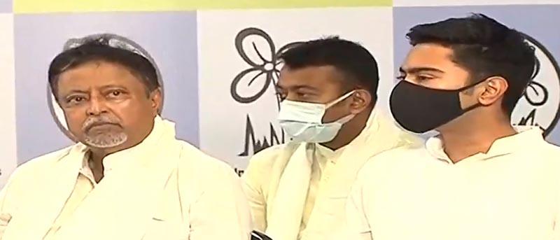 Mukul Roy quits BJP, rejoins Trinamool Congress