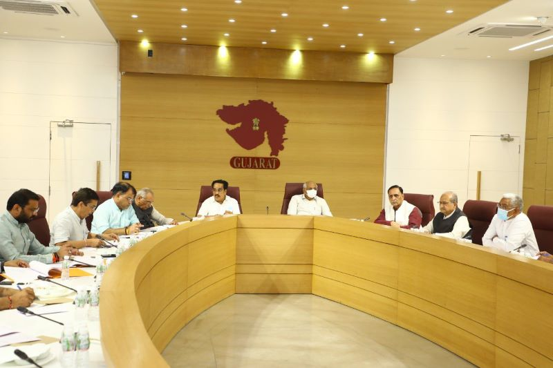 New Gujarat cabinet to be sworn in today