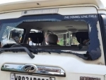 Union Minister and BJP leader V Muraleedharan's car attacked in Bengal